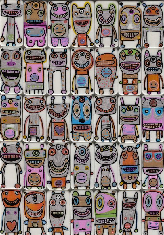 robots draw eyestoy