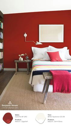 caliente af 290 and white opulence oc 69 helps give this bedroom a unique