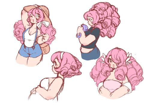 i love rose s endless curls