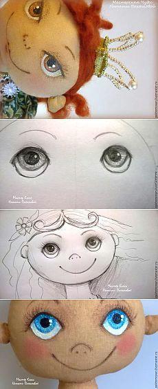 saiba como reviver a boneca taaxtil pintura de rosto doll painting doll face paint