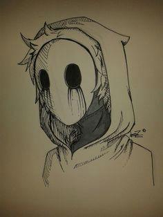 eyeless jack drawing scary drawings creepypasta characters jack creepypasta amazing art horror