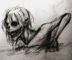 creepy sketch thing