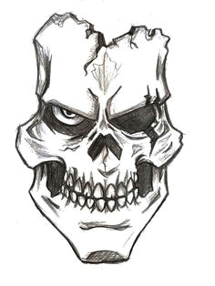 assassin skull drawings bing images