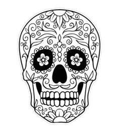 sugar skull coloring pages sugar skull tattoos sugar skull design sugar skull art