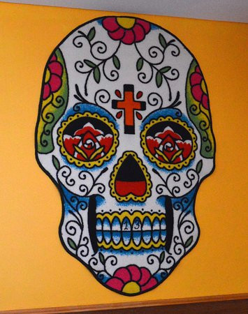 tequila n tacos mexican skull