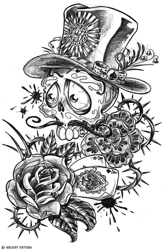 bull skull tattoos sugar skull tattoos sugar skulls deer tattoo day of