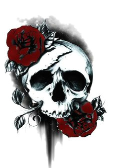 totenkopf tattoos lange fingernagel girly schadel tattoos korperkunst tattoos badass tatowierungen