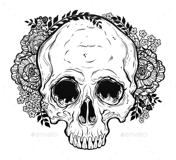 Drawing Skull Photo Skull Drawings S S Media Cache Ak0 Pinimg 736x Af 0d 99 Scp Design
