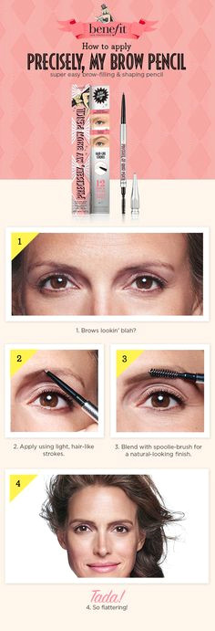 transform shapeless undefined brows with just a few flicks of this super slim pencil