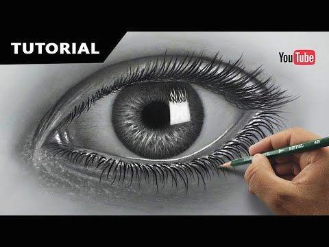 draw hyperrealistic eye easiest method narrated step by step