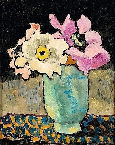 blooming brushwork a garden and still life flower paintings louis valtat