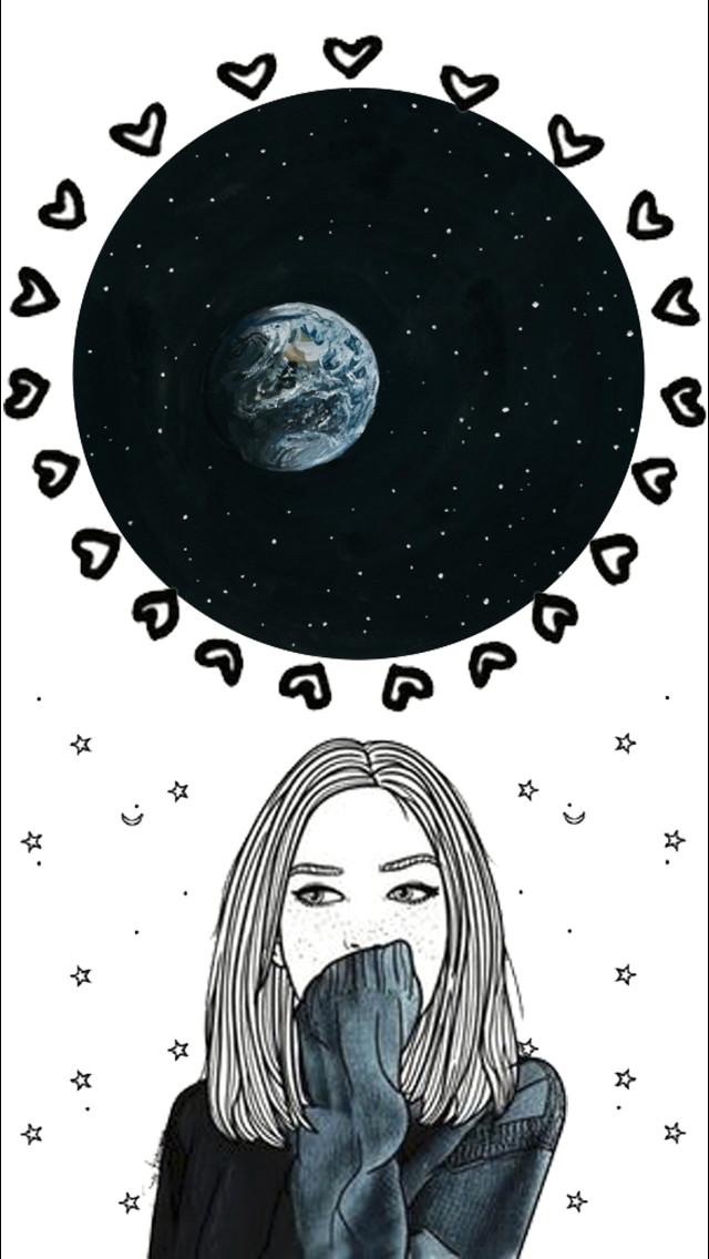 night skies universe far away artsy moon sky space