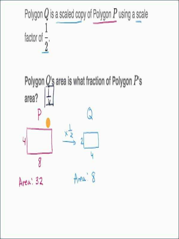 scale factors and area video geometry