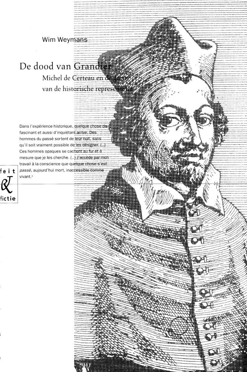pdf de dood van grandier michel de certeau en de grens van de historische representatie