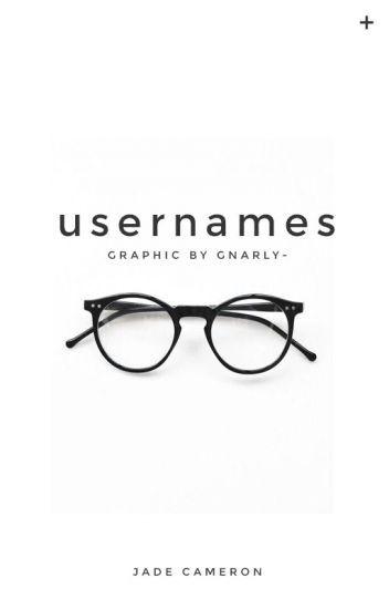 username ideas
