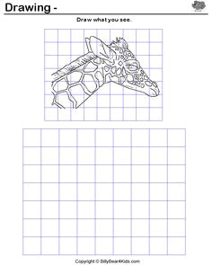 great intro lesson to drawing with grids it