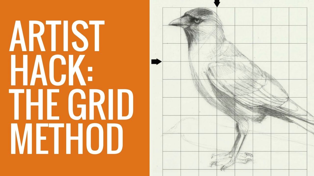 read me in this video i show you how to use the grid method to make realistic paintings this is a great artist hack if you are new to painting and