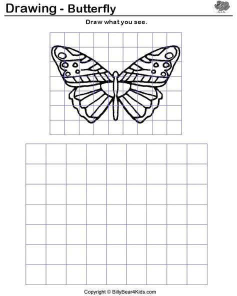 how to enlarge a drawing using a grid google search
