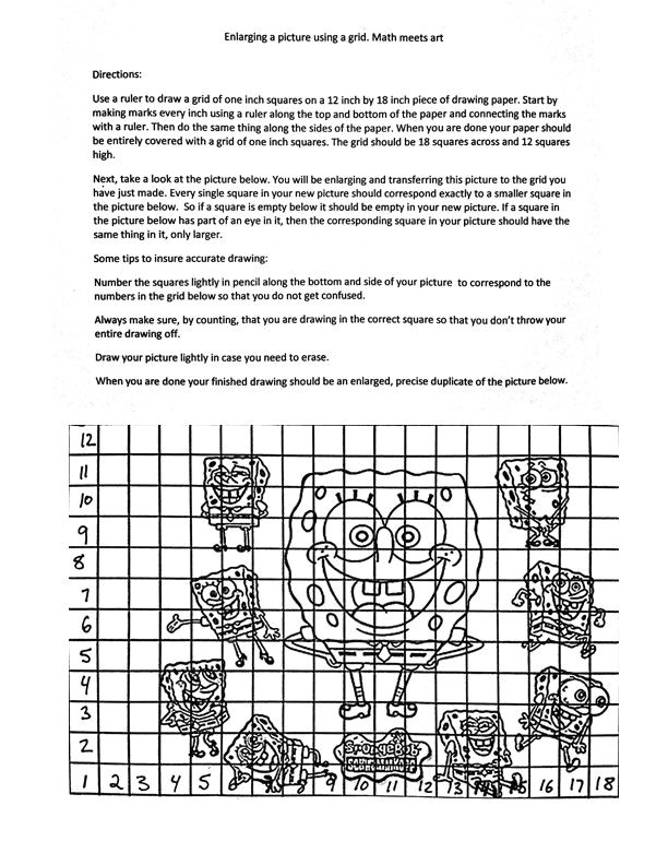 the helpful art teacher how to create and use a drawing grid how to use a viewfinder