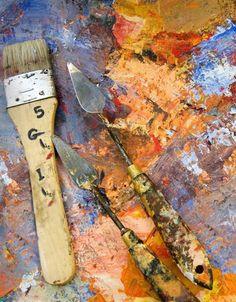 palette knife painting http painting about com od