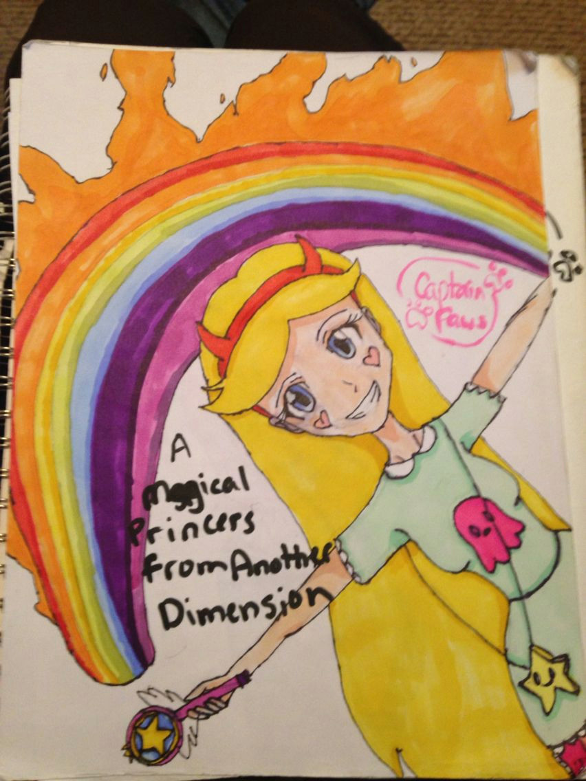 star butterfly from star vs the forces of evil repin with credit to captain paws