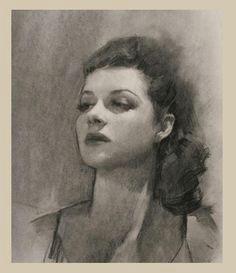 portrait drawing technique with charcoal louis smith charcoal portraits charcoal art charcoal drawing