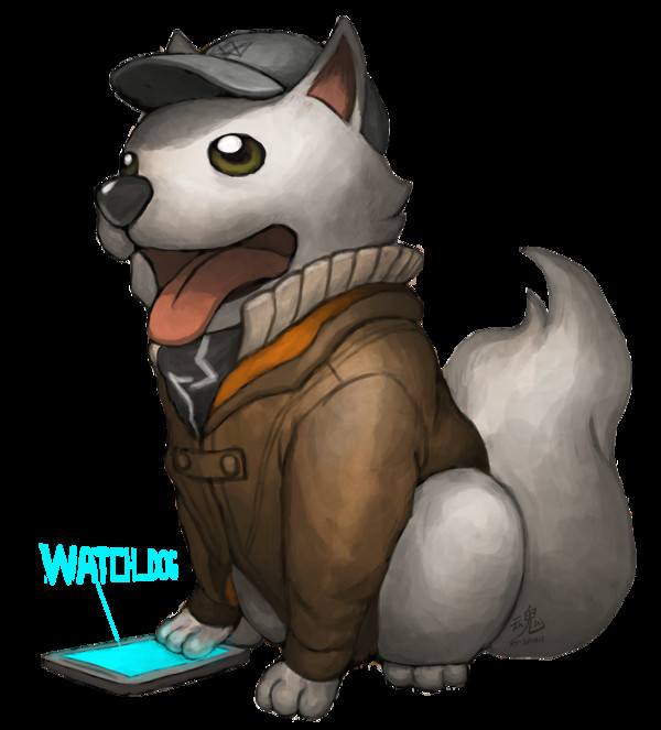 Drawing Watch Dogs the Dog that Hacks Drawn by Ry Spirit Art Art and More Art Dogs
