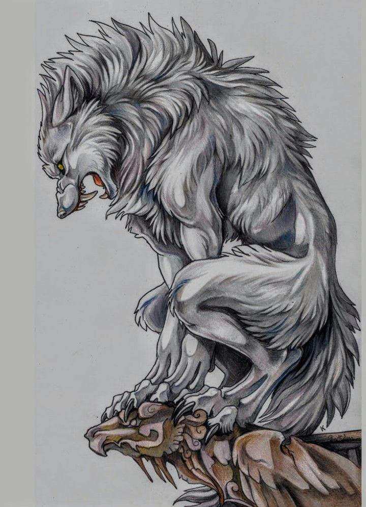 drake werewolf tattoo werewolf art werewolf drawings mythological creatures mythical creatures
