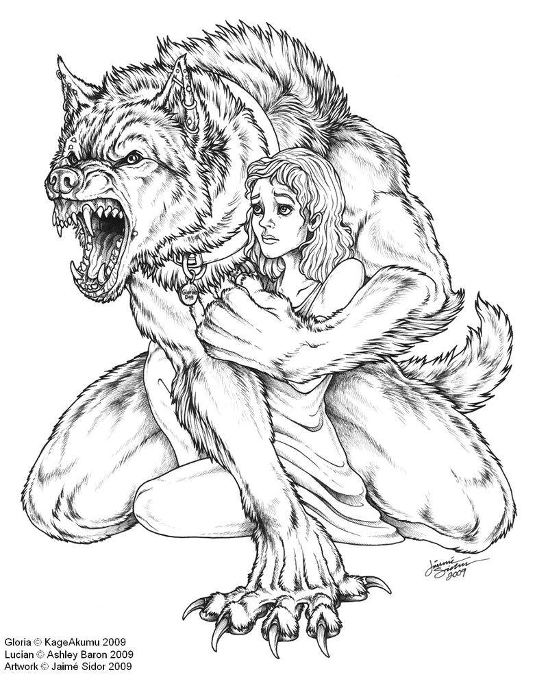 werewolf sketches google zoeken
