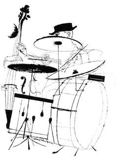 jazz drawings by david stone martin