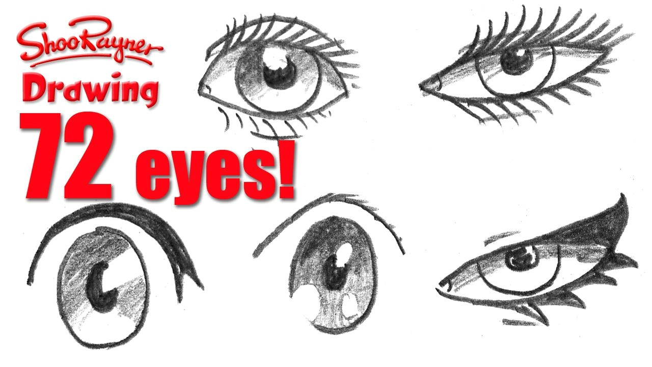 Drawing with Jazza Eyes How to Draw 72 Eyes In Different Styles Youtube
