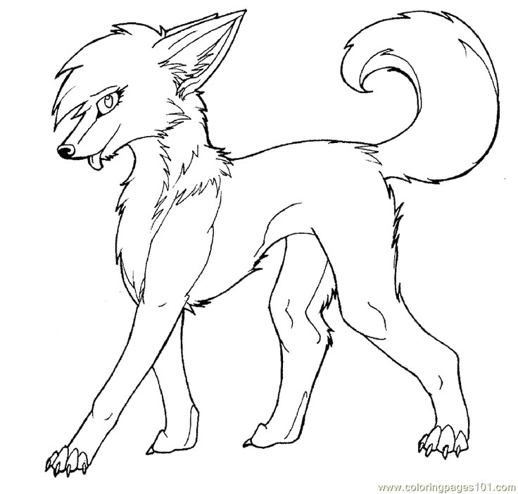 black and white wolf coloring pages fresh outline for coloring new animal outline fresh animal