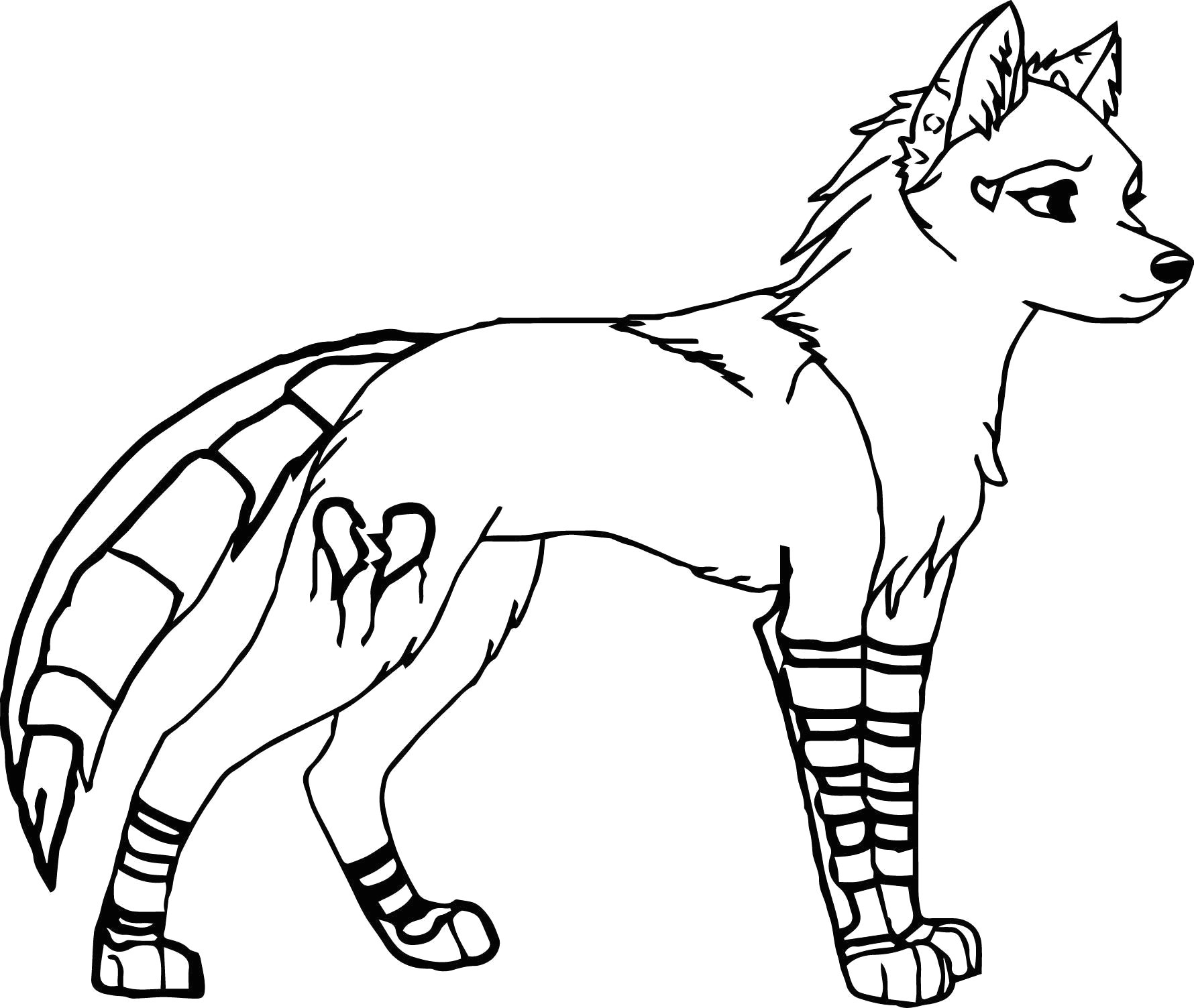 black and white wolf coloring pages best of werewolf to draw new easy to draw fox