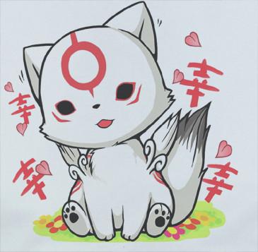 chibi zeichnen tiere inspirant galerie custom premium custom okamiden okami wolf kawaii chibiterasu shirt t