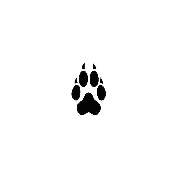 wolf tattoos gen tatoos wolf paw print tattoo wolf paw tattoo paw