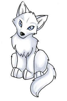 anime wolf pup easy clipart best cute wolf drawings wolf drawing easy easy