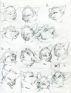 the o face quick tips furry tutorial anime wolf drawing cartoon
