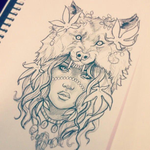 photo from gimiksborn tattoos motive face tattoos wolf tattoos new tattoos future
