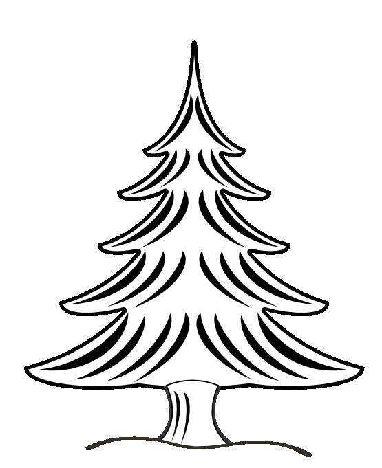 clip art black and white net a clip art a xmas christmas tree 22 black white line art art