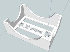 x wing miniatures sleeved damage deck holder