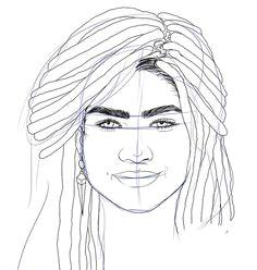 zendaya drawing the most beautiful zendaya art you need to see