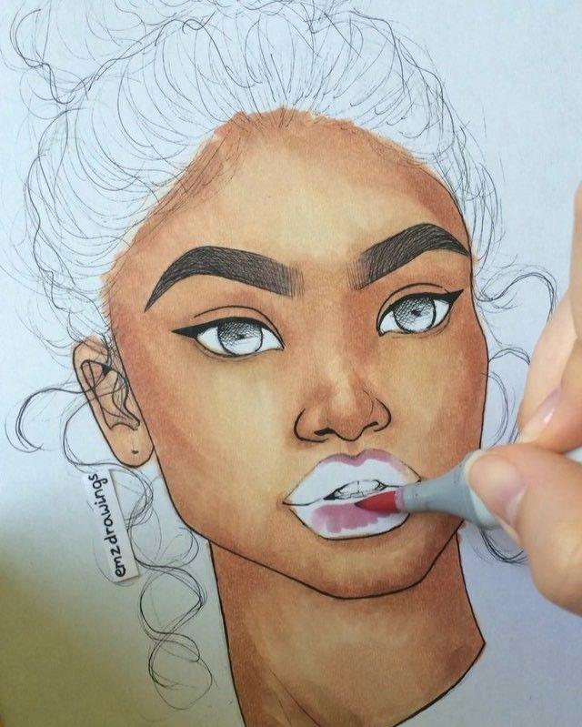 zendaya a d a d d zendaya celebrity drawings new art instagram