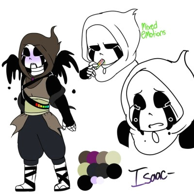 drawingerror here s isaac a new bab well a ink x reaper bab