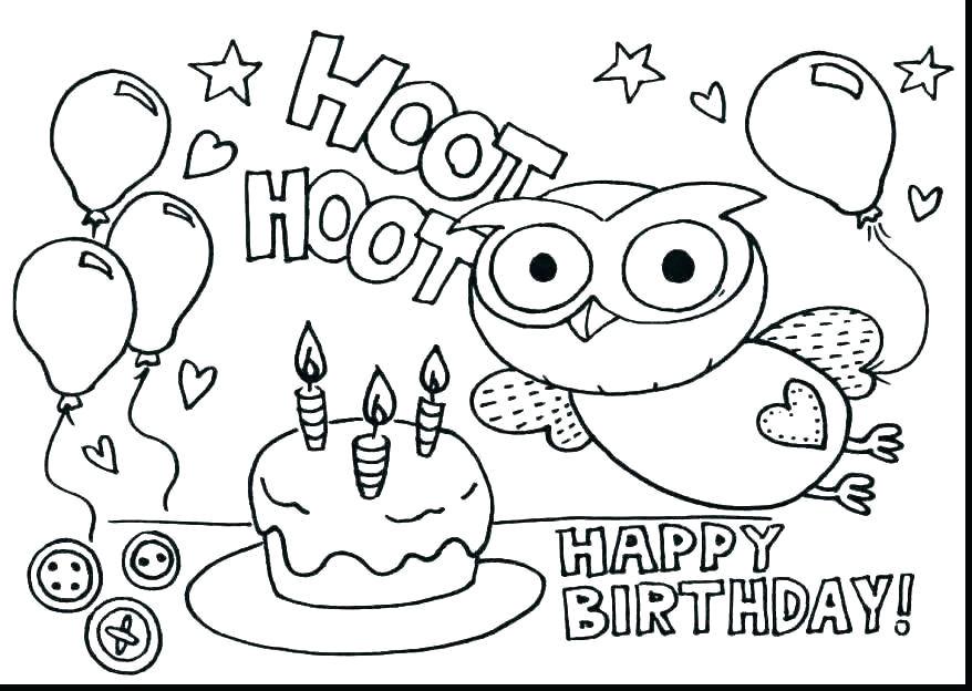 birthday cake coloring page elegant birthday cake coloring page free coloring pages birthday cake of birthday