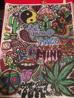trippy shitzzz psychedelic drawings trippy drawings colorful drawings art drawings hippie drawing