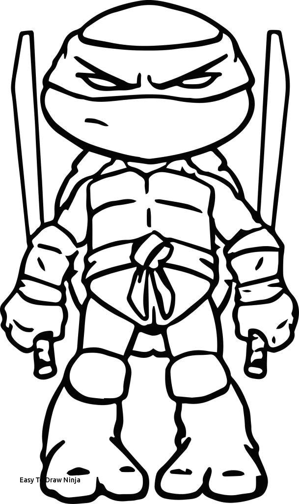 easy to draw ninja ninja turtles coloring pages heathermarxgallery