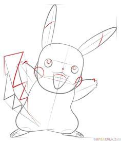 how to draw pikachu pokemon step by step drawing tutorials pikachu drawing drawing tutorials