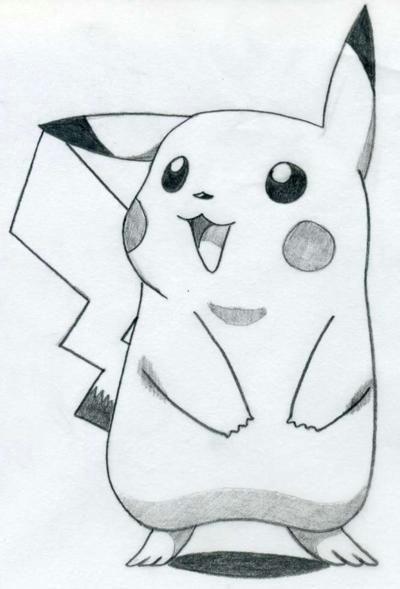 how to draw pikachu