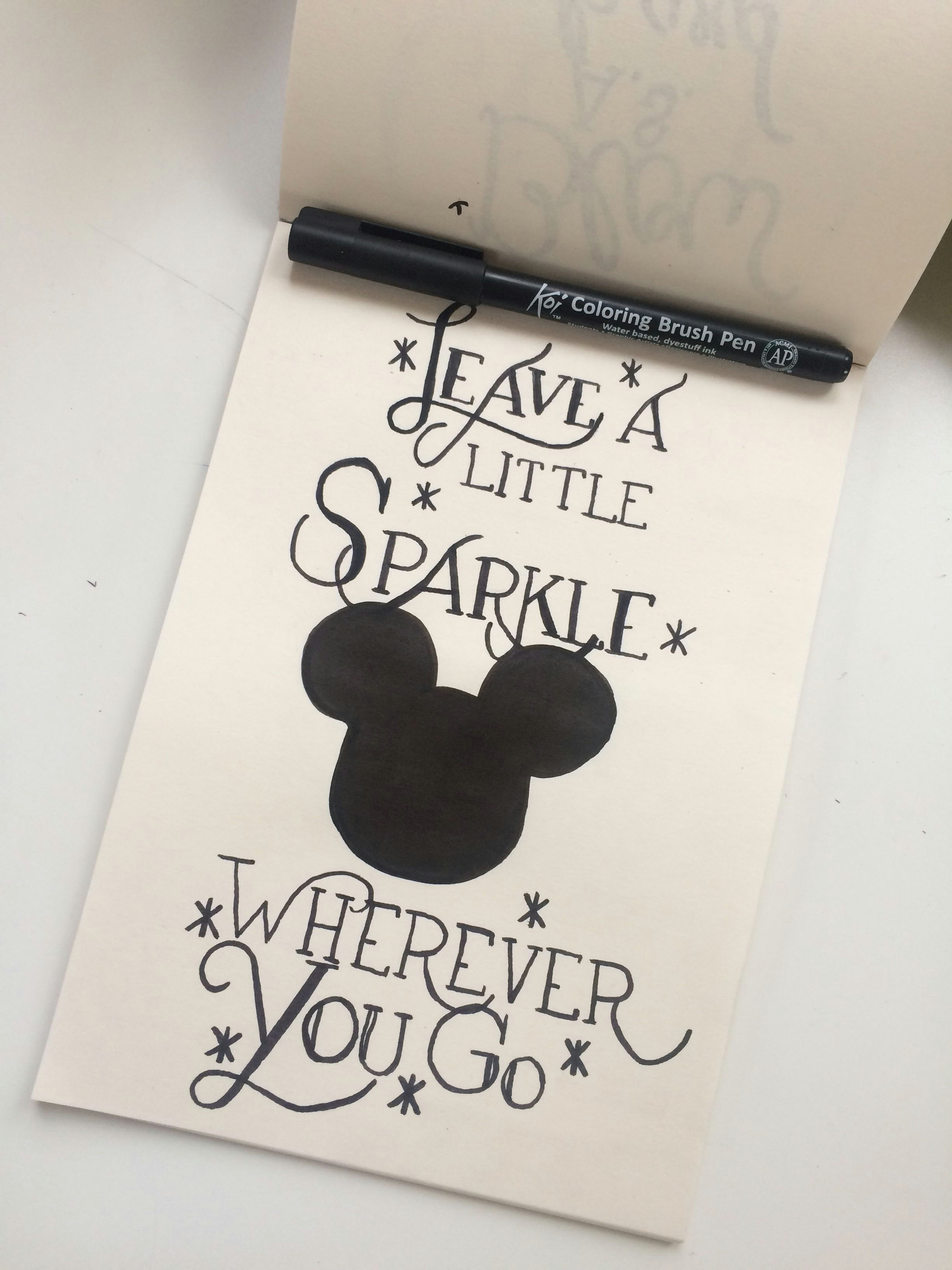 disney drawing a disney drawing easy growingupbritish drawings bossbabe sparkles minniemouse