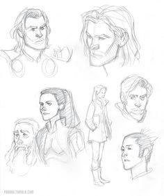 hulk sketch thor drawing drawing board drawing sketches my drawings sketching